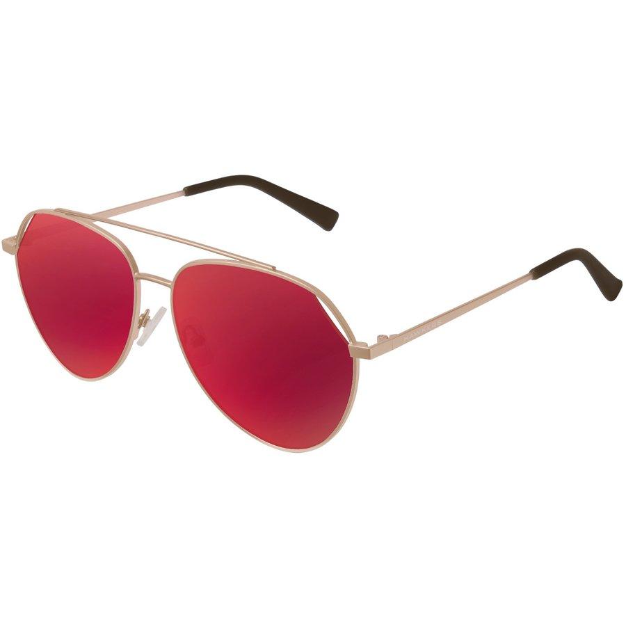 Ochelari de soare unisex Hawkers BEV04 Gold Red Bluejay Pilot originali cu comanda online