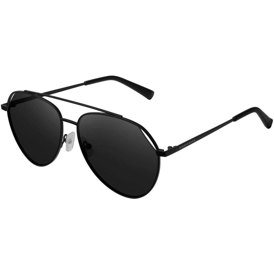Ochelari de soare unisex Hawkers BEV1801 Black Dark Bluejay Pilot originali cu comanda online