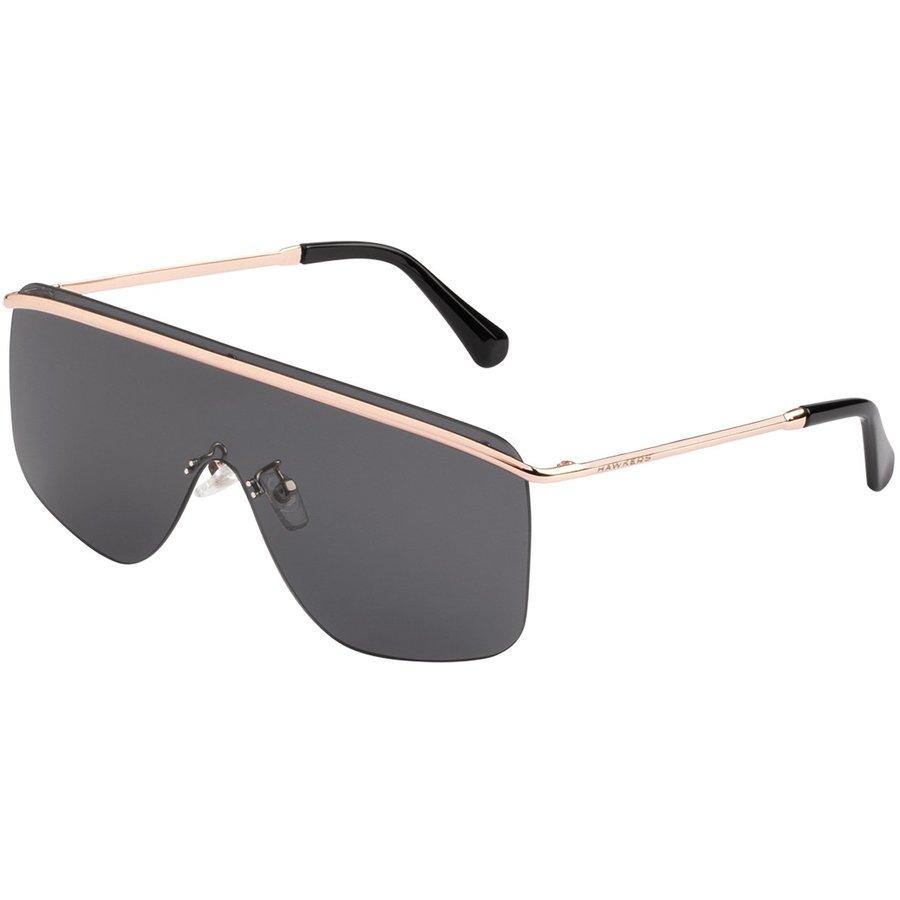 Ochelari de soare unisex Hawkers H01FHM0601 Gold Dark Spago Supradimensionati originali cu comanda online