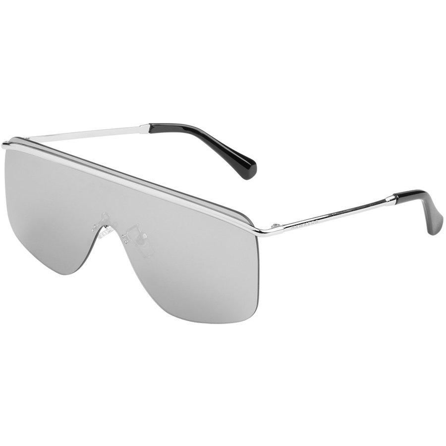 Ochelari de soare unisex Hawkers H01FHM1809 Silver Chrome Spago Supradimensionati originali cu comanda online