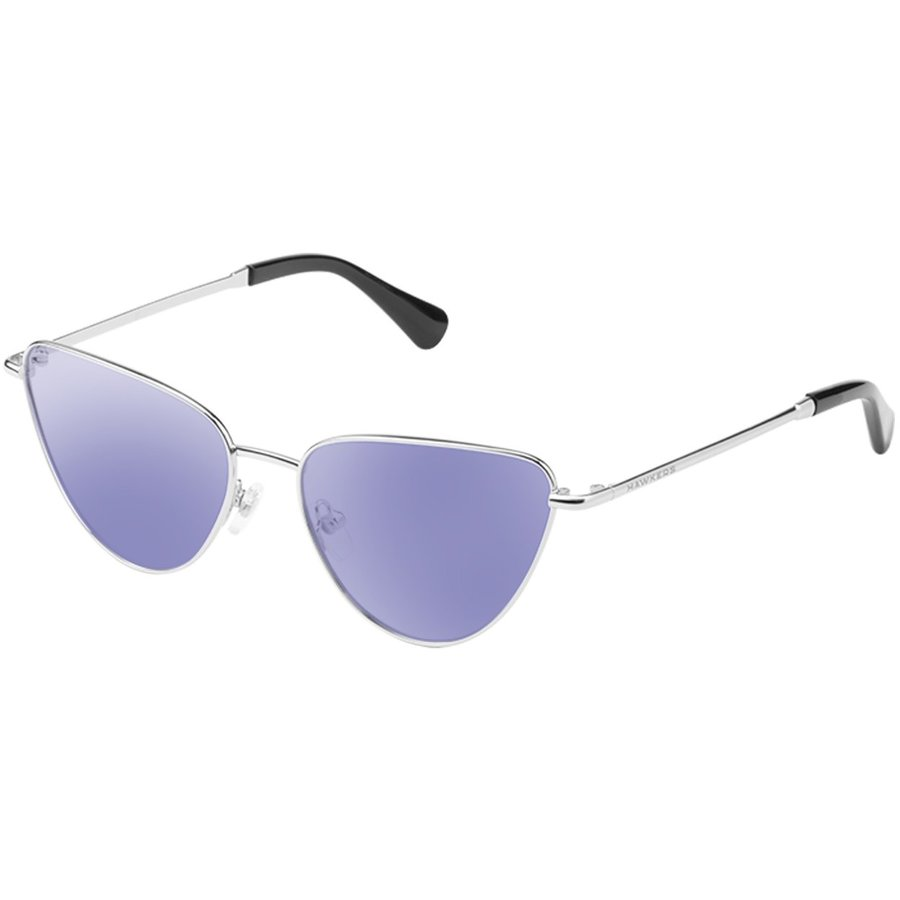Ochelari de soare unisex Hawkers H06FHM1813 Silver Blue Ochi de pisica originali cu comanda online