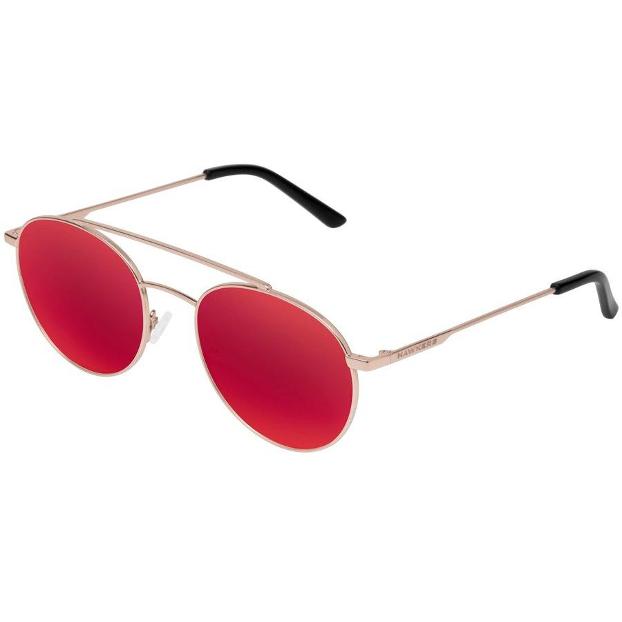 Ochelari de soare unisex Hawkers HIL09 Gold Ruby Hills Rotunzi originali cu comanda online