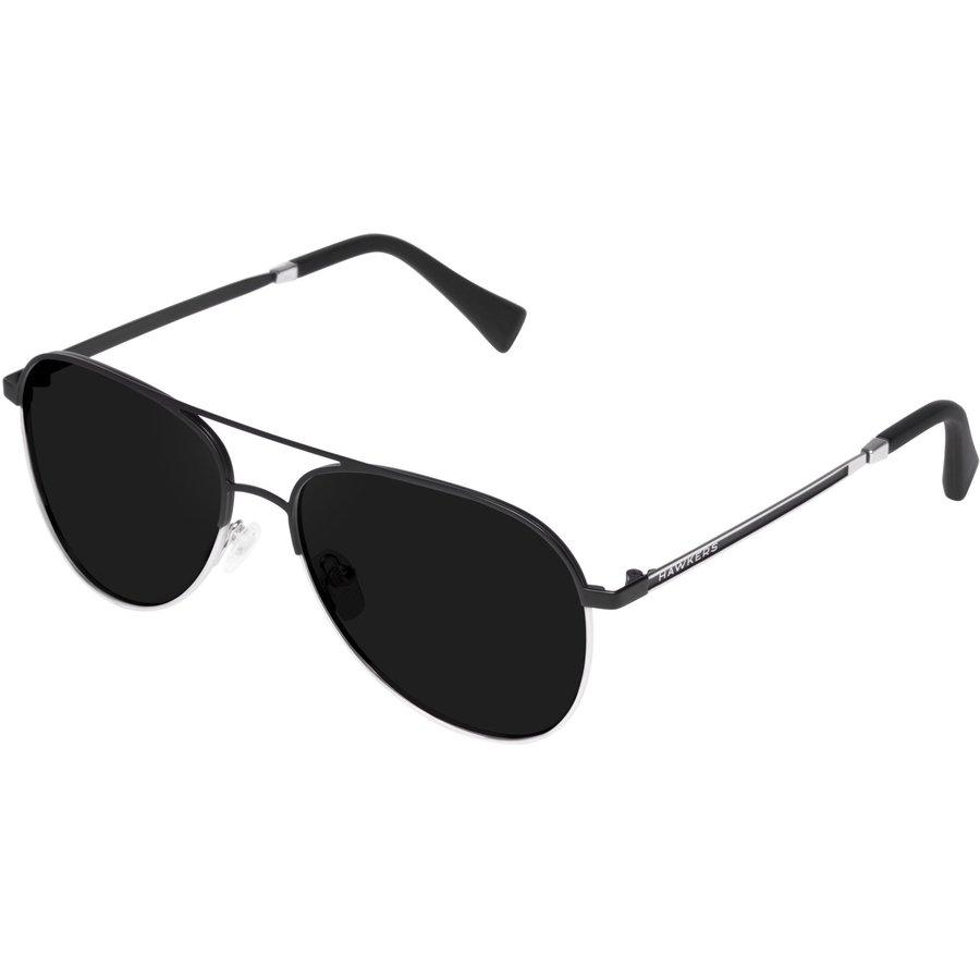 Ochelari de soare unisex Hawkers LACM1 Black Silver Dark Pilot originali cu comanda online
