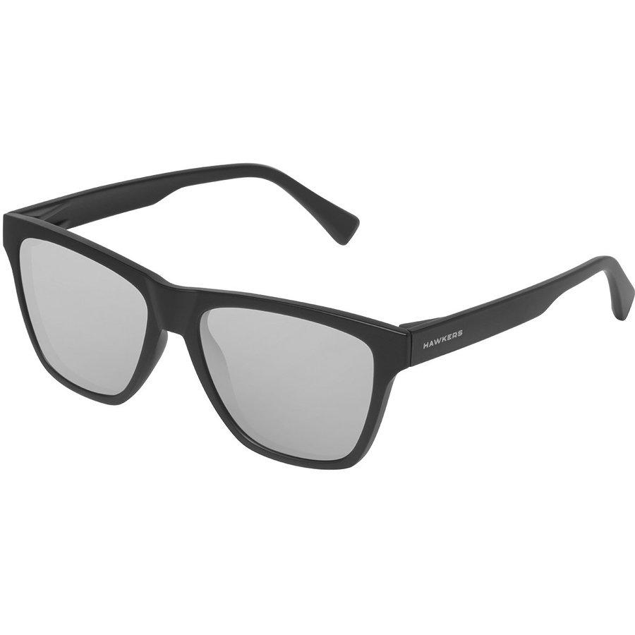 Ochelari de soare unisex Hawkers LIFTR10 CARBON BLACK CHROME ONE LS Rectangulari originali cu comanda online