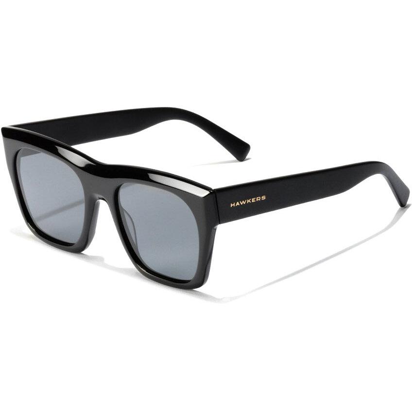Ochelari de soare unisex Hawkers LifeStyle Black Narciso 120025 Supradimensionati originali cu comanda online