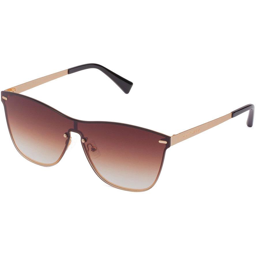 Ochelari de soare unisex Hawkers LifeStyle Gold Brown Gradient One Venm Metal H02LHM0630 Rectangulari originali cu comanda online