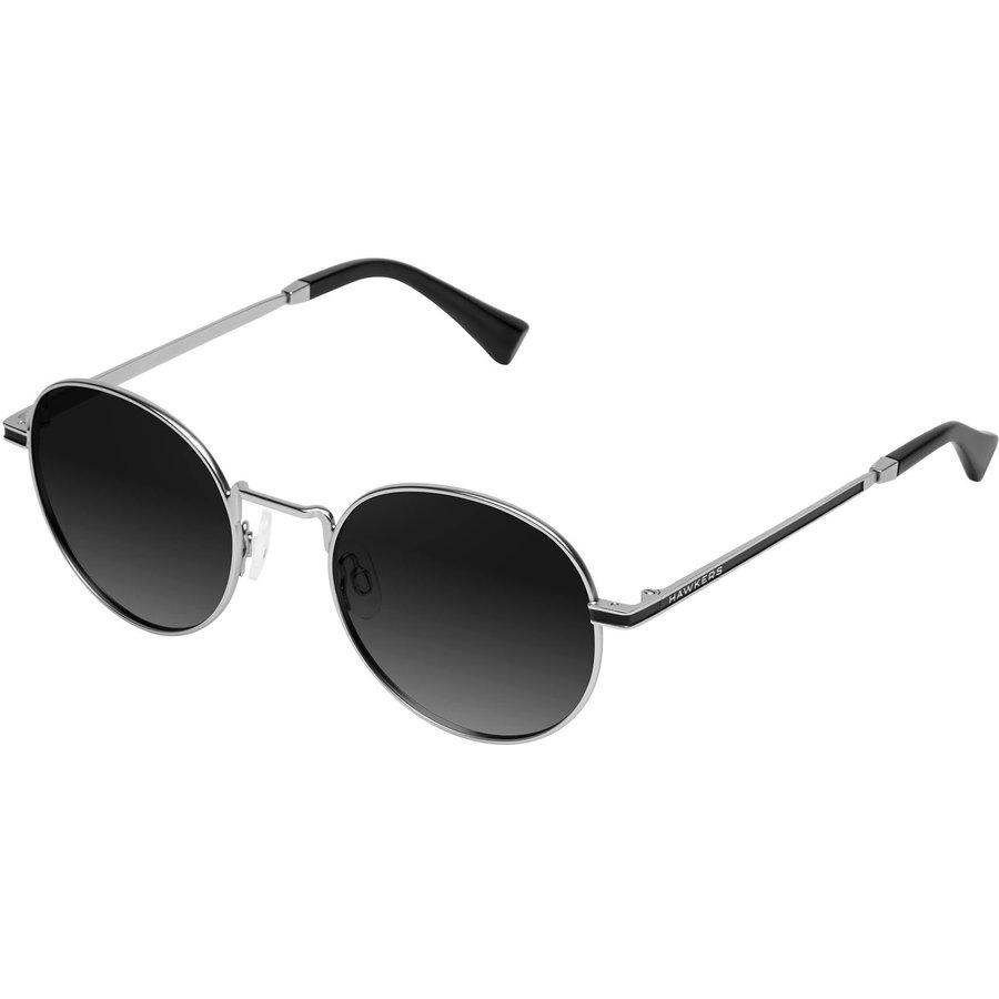 Ochelari de soare unisex Hawkers MOMA1 SILVER BLACK GRADIENT Rotunzi originali cu comanda online