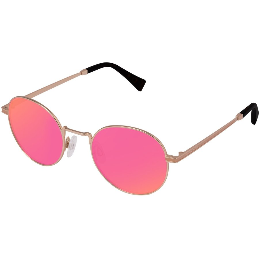 Ochelari de soare unisex Hawkers MOMA7 GOLD NEBULA Rotunzi originali cu comanda online
