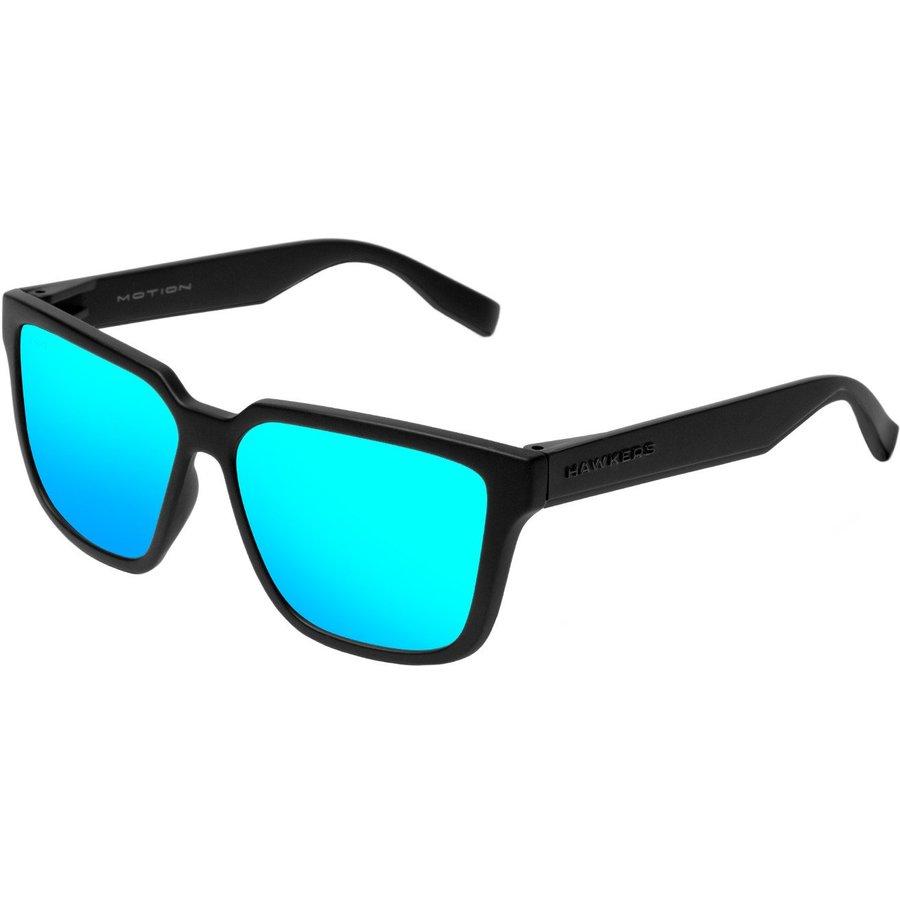 Ochelari de soare unisex Hawkers MOT05 Carbon Black Blear Blue Motion Patrati originali cu comanda online