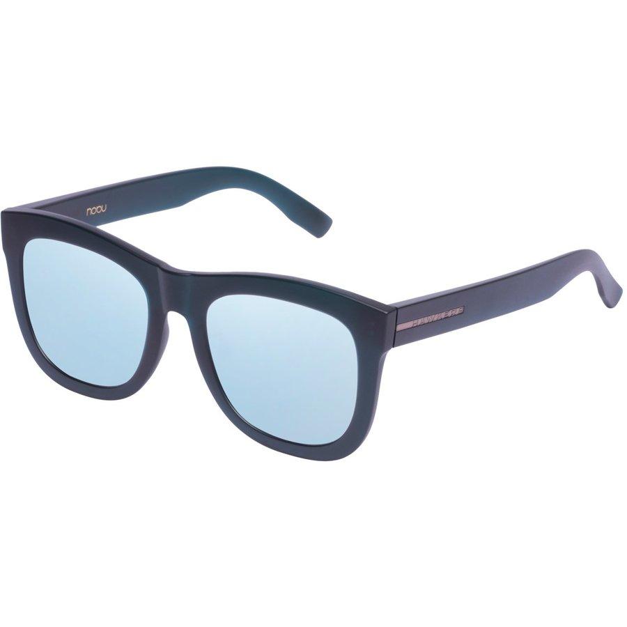 Ochelari de soare unisex Hawkers NOB06 FROZEN HELENICO BLUE CHROME NOBU Patrati originali cu comanda online