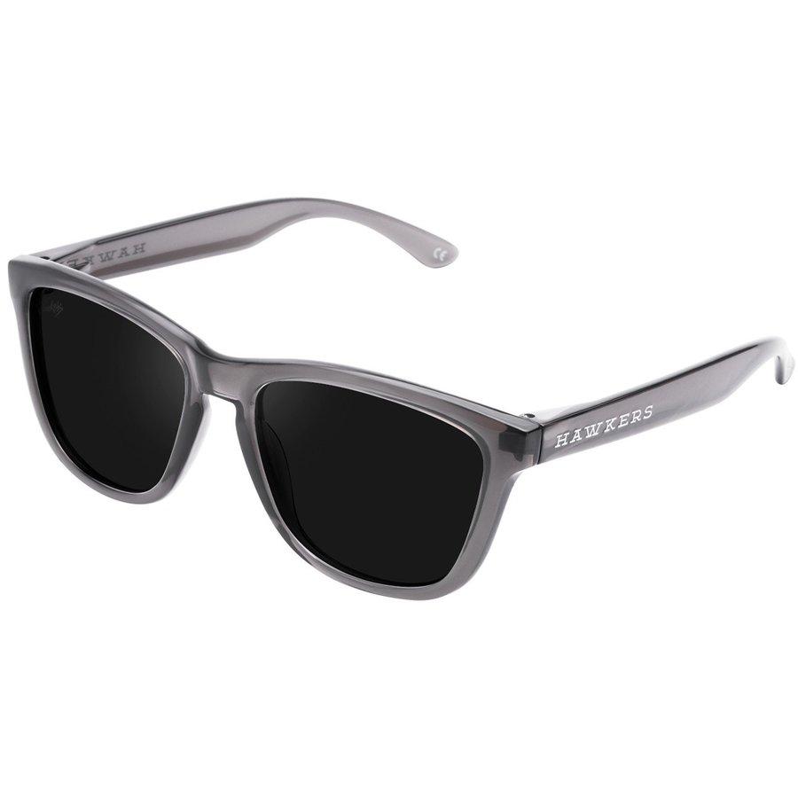 Ochelari de soare unisex Hawkers O18TR09 Crystal Black Dark One Rectangulari originali cu comanda online