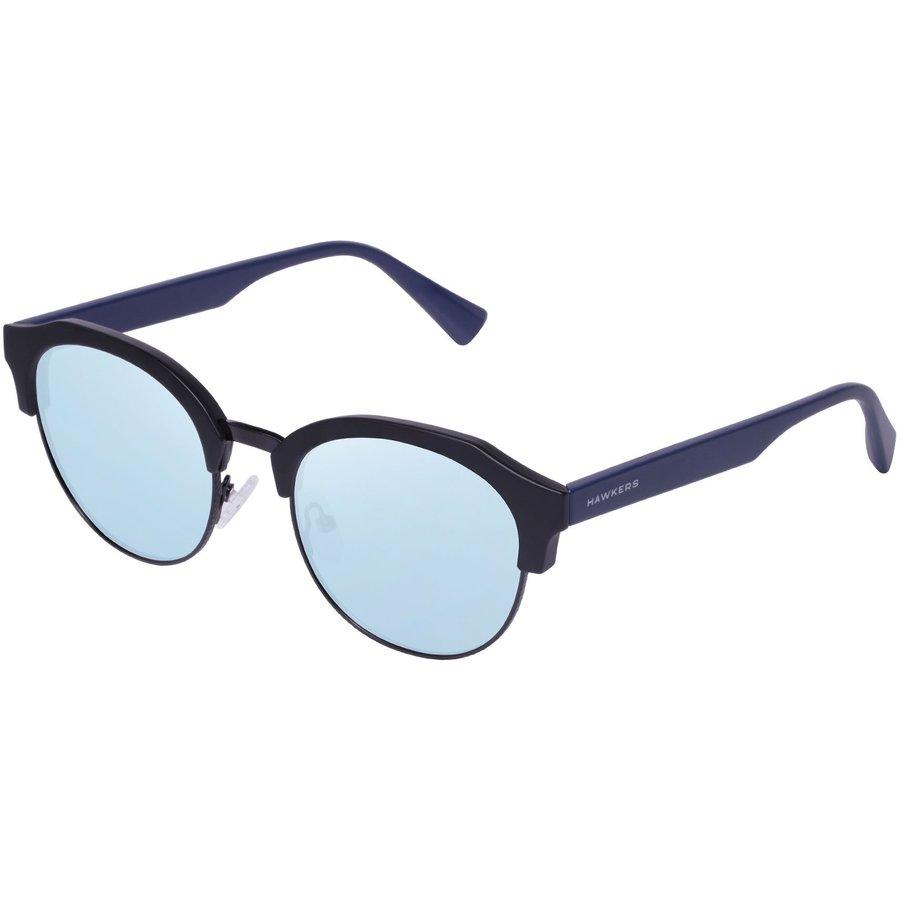 Ochelari de soare unisex Hawkers ROCTR06 BLACK NAVY BLUE Rotunzi originali cu comanda online