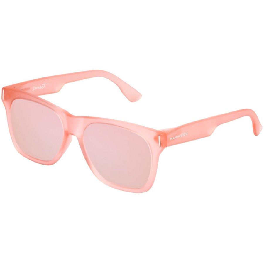 Ochelari de soare unisex Hawkers SUN04 Frozen Nude Rose Gold Sunset Rectangulari originali cu comanda online