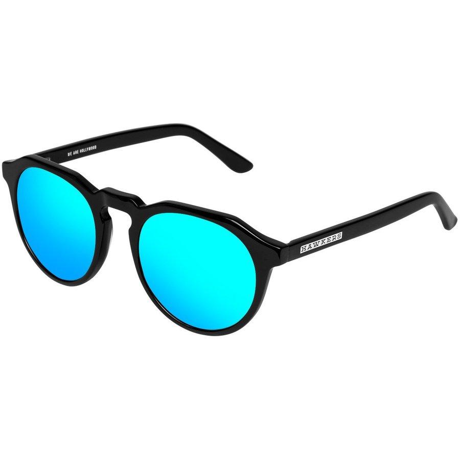 Ochelari de soare unisex Hawkers W18X01 Black Clear Blue Warwick X Rotunzi originali cu comanda online