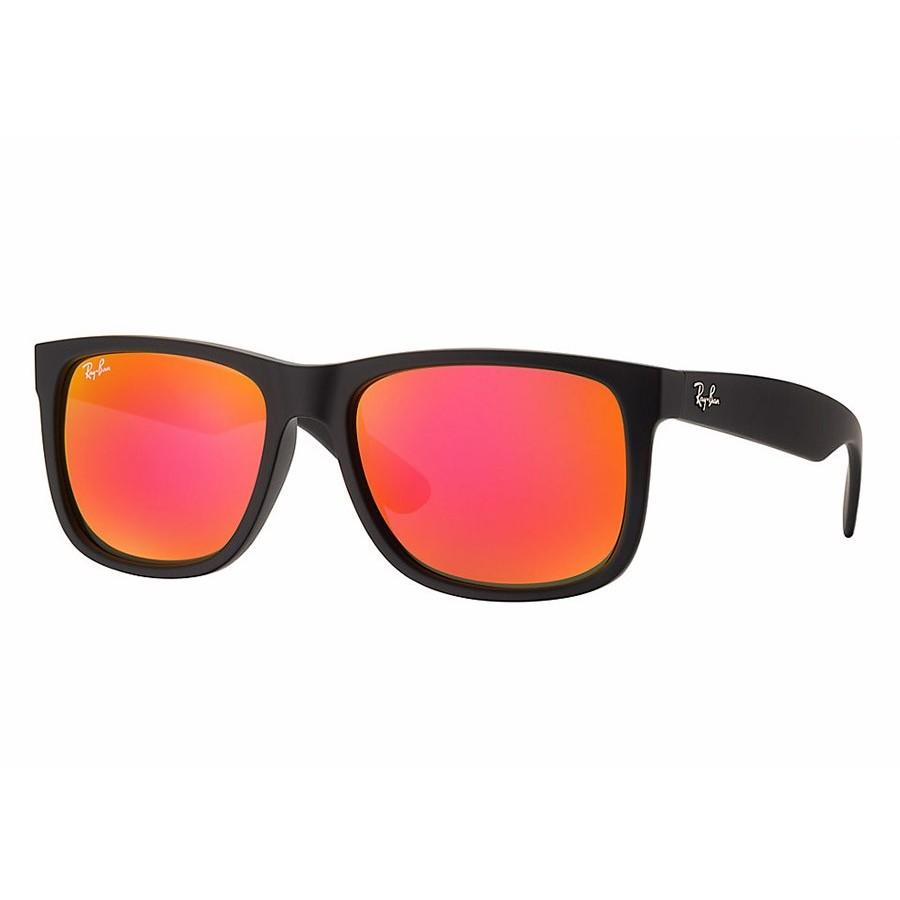 Ochelari de soare unisex Justin Ray-Ban RB4165 622/6Q Rectangulari originali cu comanda online