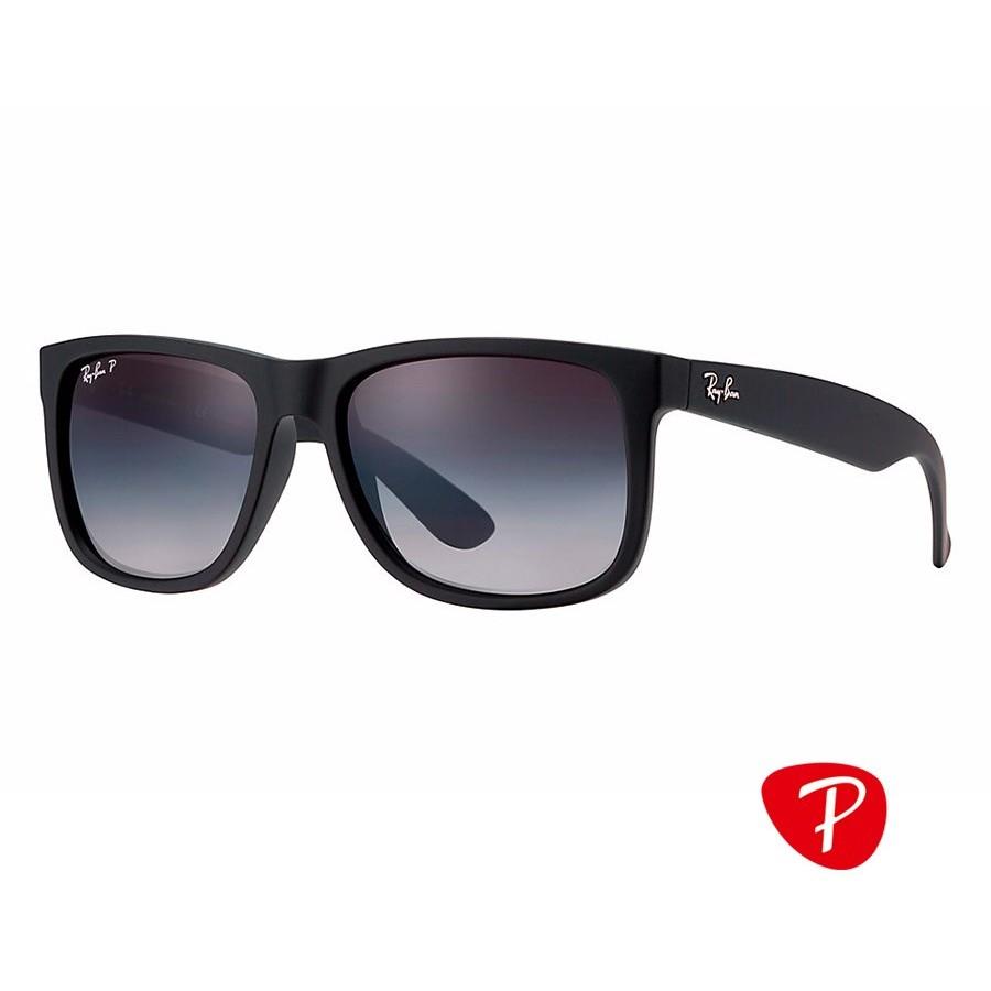 Ochelari de soare unisex Justin Ray-Ban RB4165 622/T3 Rectangulari originali cu comanda online