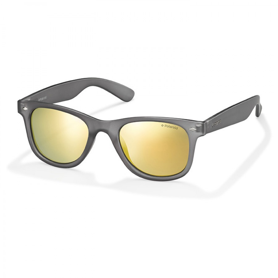 Ochelari de soare unisex POLAROID15 PLD 6009/S UJB GREY TRANSP Rectangulari originali cu comanda online