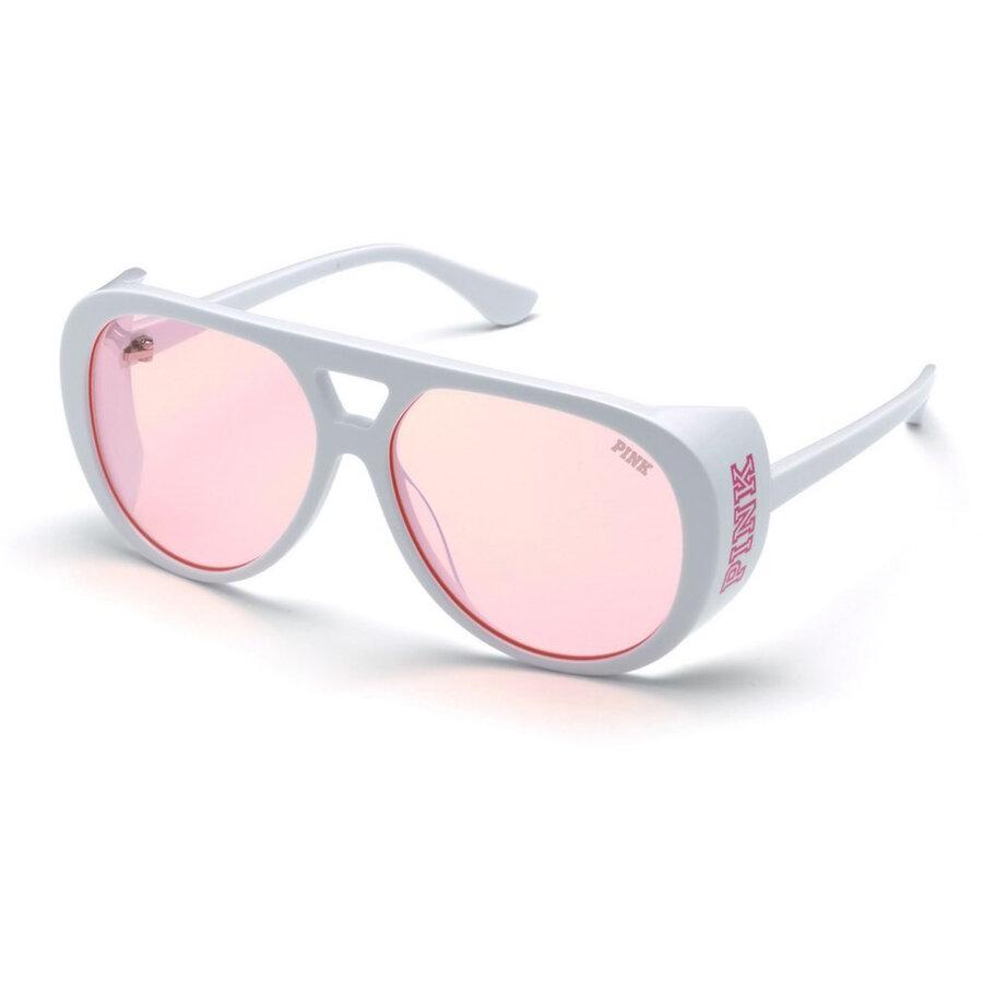Ochelari de soare unisex Pink by Victorias Secret PK0013 25T Pilot originali cu comanda online