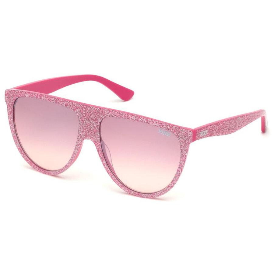 Ochelari de soare unisex Pink by Victorias Secret PK0015 72T Pilot originali cu comanda online