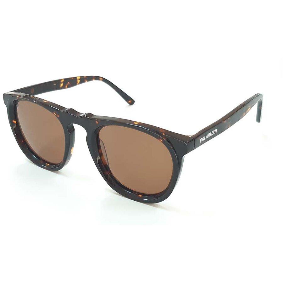 Ochelari de soare unisex Polarizen WD5011 C3 Rotunzi originali cu comanda online