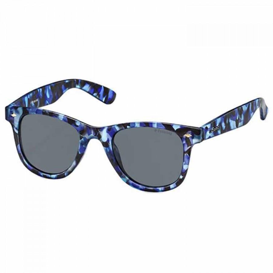 Ochelari de soare unisex Polaroid15 PLD 6009/S S PRK CAMUFLAGE BLUE AND GREY Rectangulari originali cu comanda online