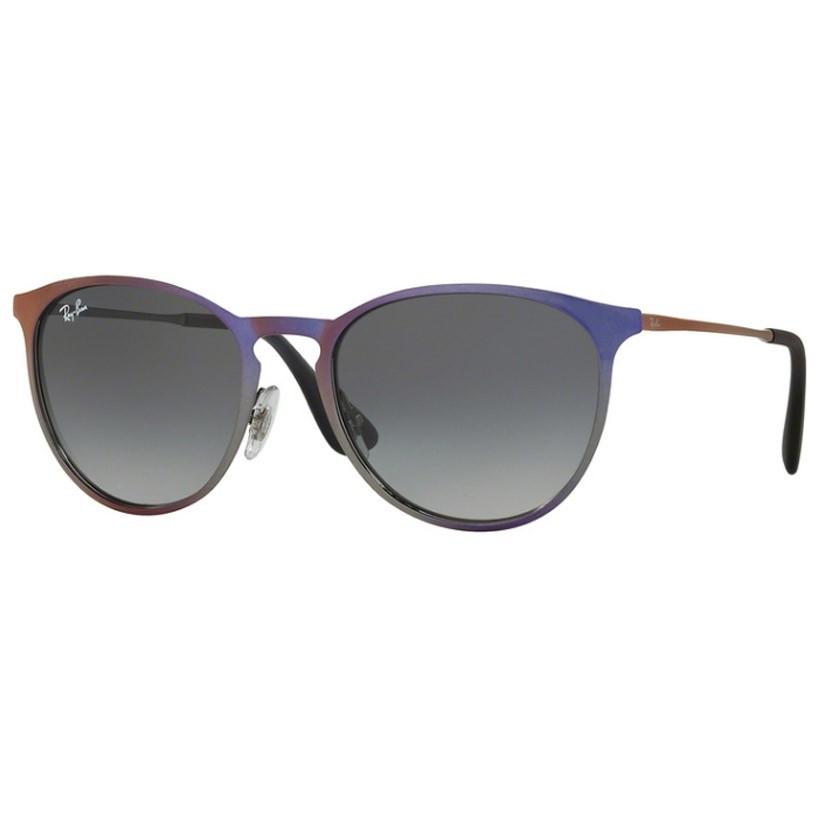 Ochelari de soare unisex Ray-Ban Erika Metal RB3539 195/11 Rotunzi originali cu comanda online