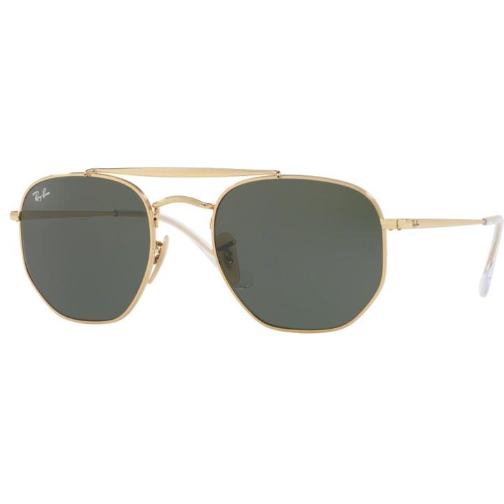 Ochelari de soare unisex Ray-Ban Marshal RB3648 001 Pilot originali cu comanda online