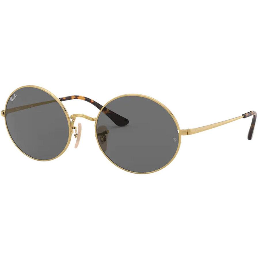 Ochelari de soare unisex Ray-Ban RB1970 9150B1 Ovali originali cu comanda online