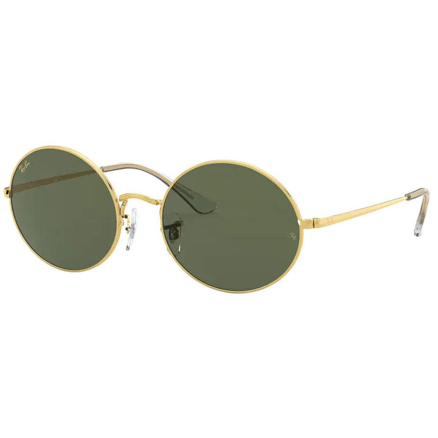 Ochelari de soare unisex Ray-Ban RB1970 919631 Ovali originali cu comanda online