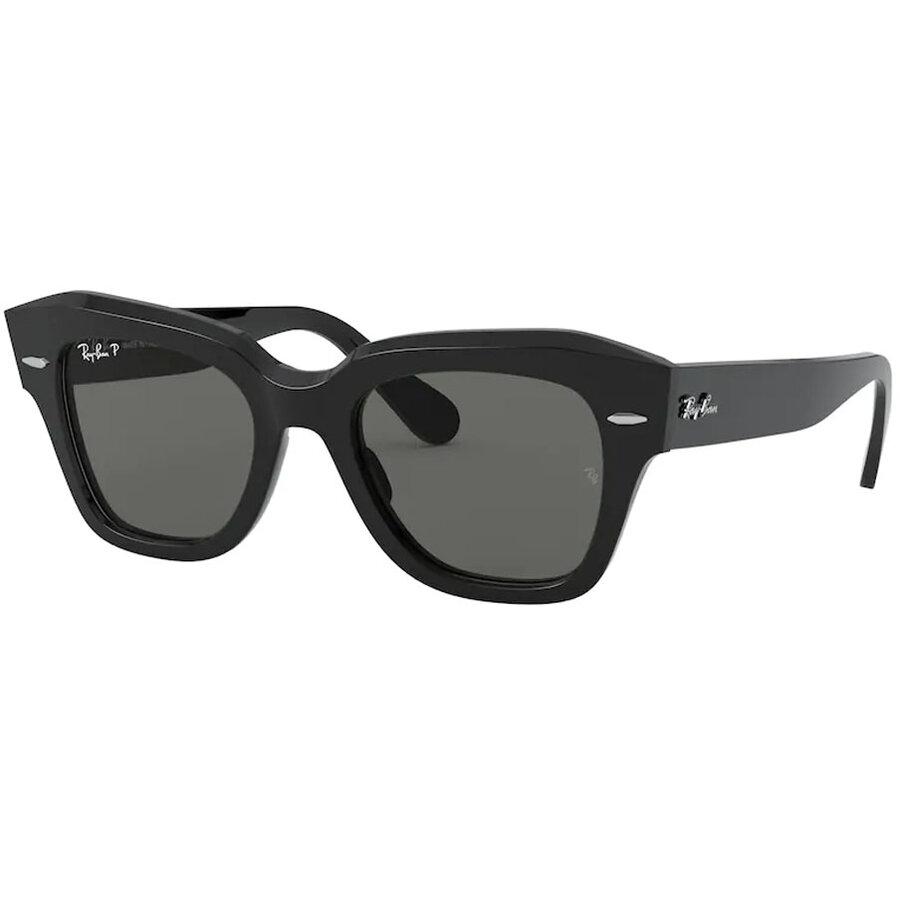 Ochelari de soare unisex Ray-Ban RB2186 901/58 Patrati originali cu comanda online