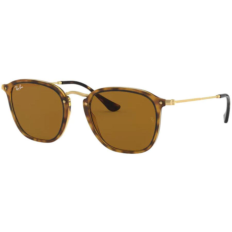 Ochelari de soare unisex Ray-Ban RB2448N 710 Patrati originali cu comanda online
