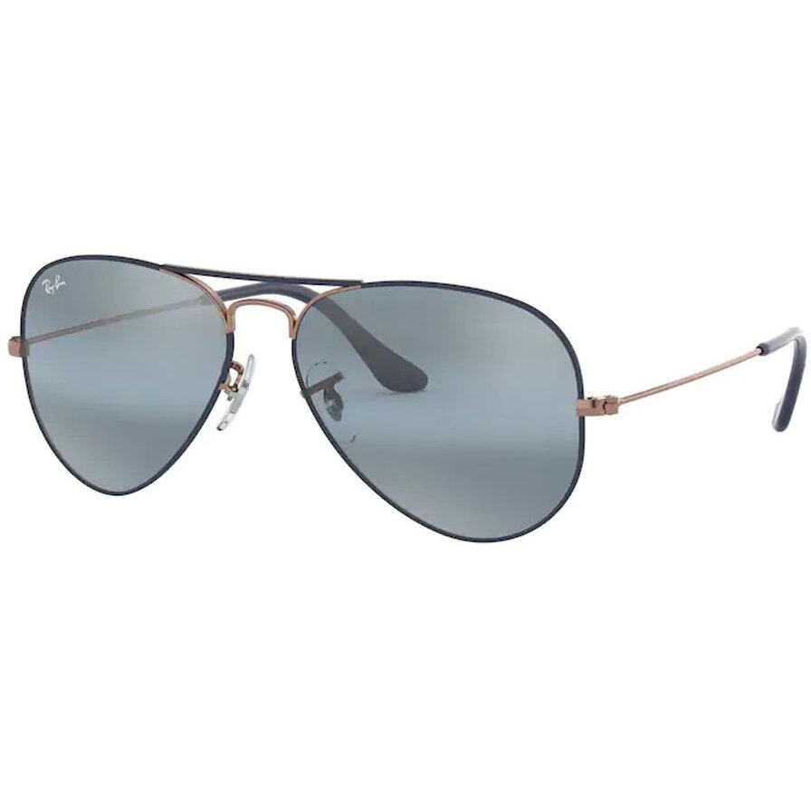 Ochelari de soare unisex Ray-Ban RB3025 9156AJ Pilot originali cu comanda online