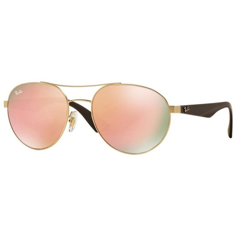 Ochelari de soare unisex Ray-Ban RB3536 112/2Y Rotunzi originali cu comanda online