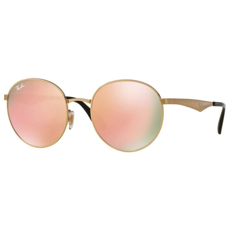 Ochelari de soare unisex Ray-Ban RB3537 001/2Y Rotunzi originali cu comanda online