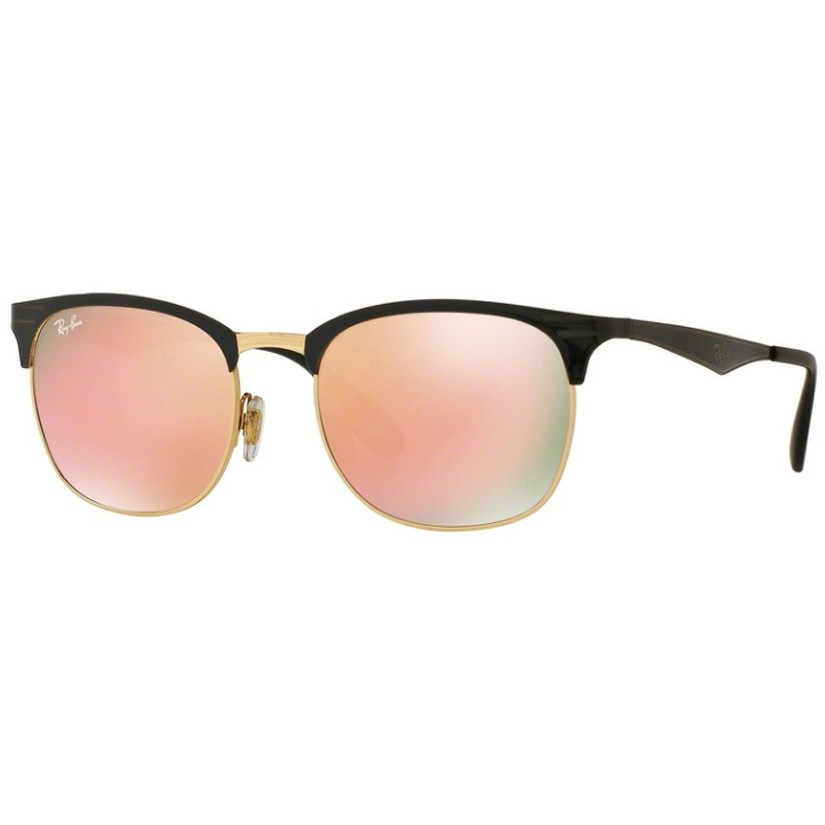 Ochelari de soare unisex Ray-Ban RB3538 187/2Y Browline originali cu comanda online