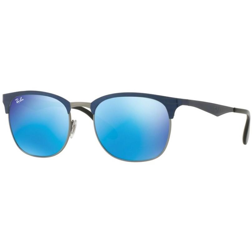 Ochelari de soare unisex Ray-Ban RB3538 189/55 Browline originali cu comanda online