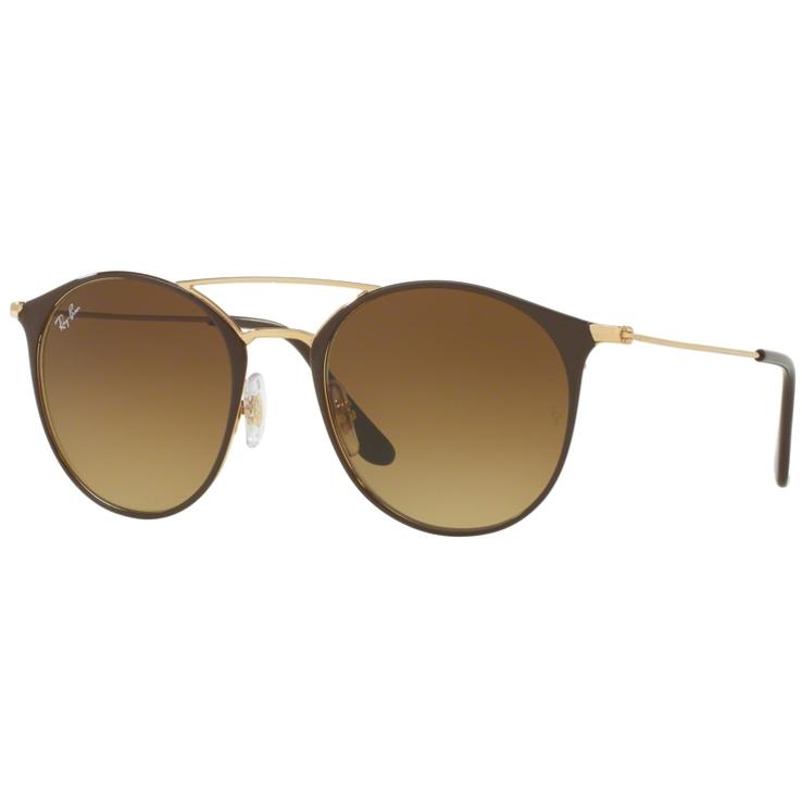 Ochelari de soare unisex Ray-Ban RB3546 900985 Rotunzi originali cu comanda online