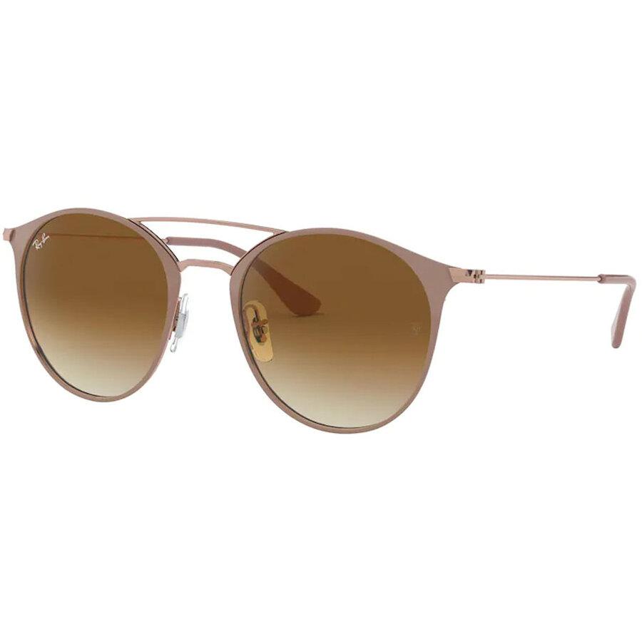 Ochelari de soare unisex Ray-Ban RB3546 907151 Rotunzi originali cu comanda online