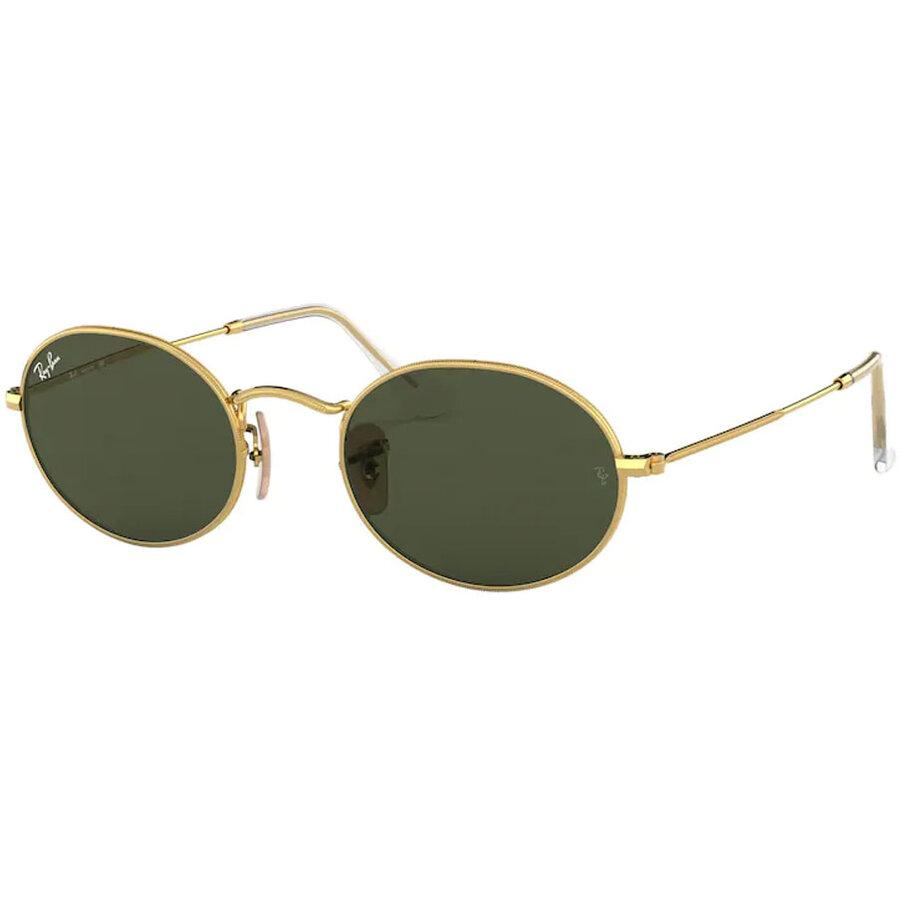 Ochelari de soare unisex Ray-Ban RB3547 001/31 Ovali originali cu comanda online