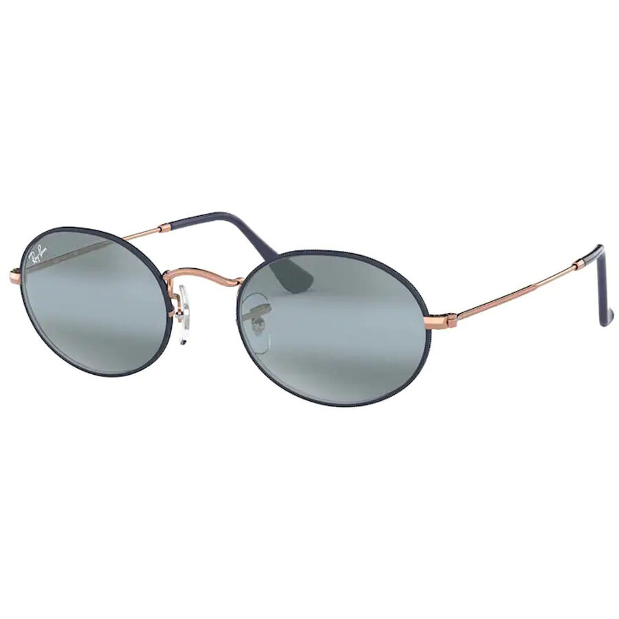 Ochelari de soare unisex Ray-Ban RB3547 9156AJ Ovali originali cu comanda online