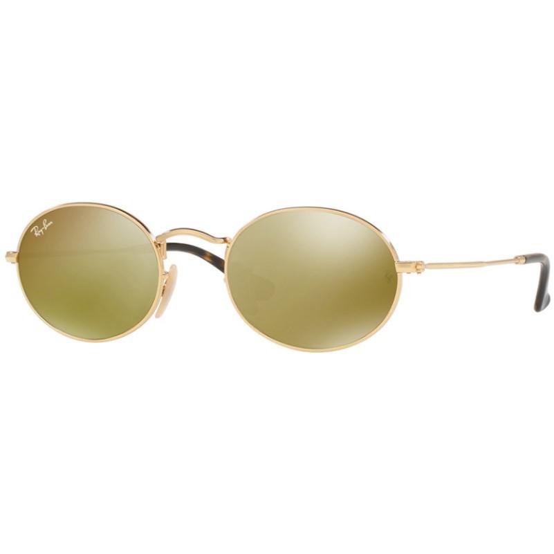 Ochelari de soare unisex Ray-Ban RB3547N 001/93 Ovali originali cu comanda online
