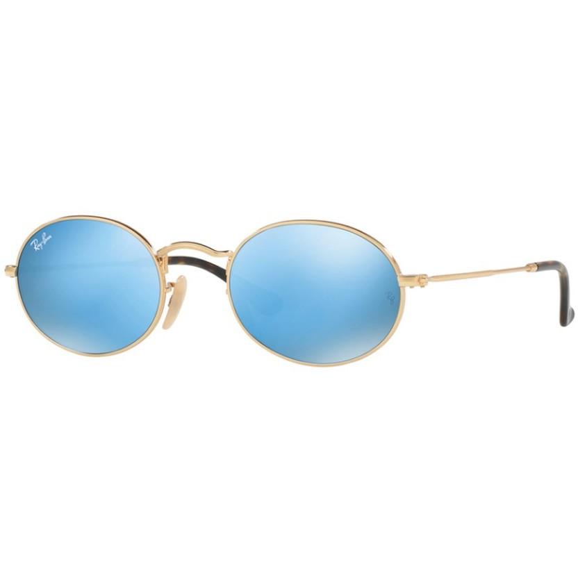 Ochelari de soare unisex Ray-Ban RB3547N 001/9O Ovali originali cu comanda online
