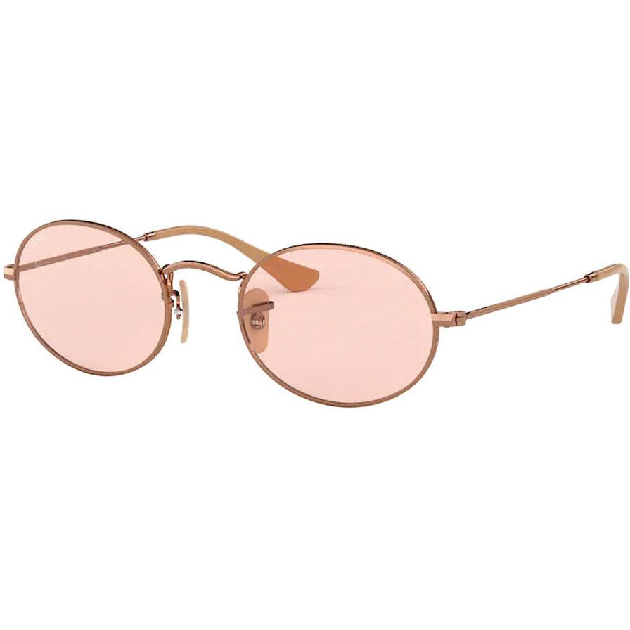 Ochelari de soare unisex Ray-Ban RB3547N 91310X Ovali originali cu comanda online