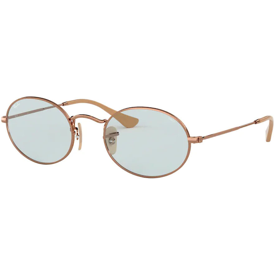 Ochelari de soare unisex Ray-Ban RB3547N 91310Y Ovali originali cu comanda online