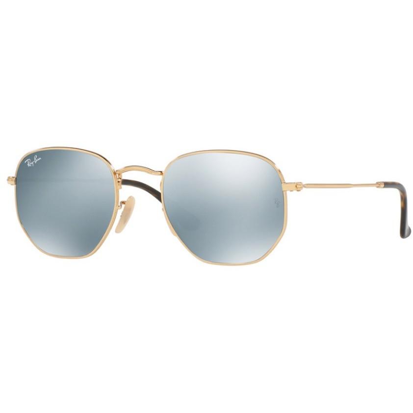 Ochelari de soare unisex Ray-Ban RB3548N 001/30 Rotunzi originali cu comanda online