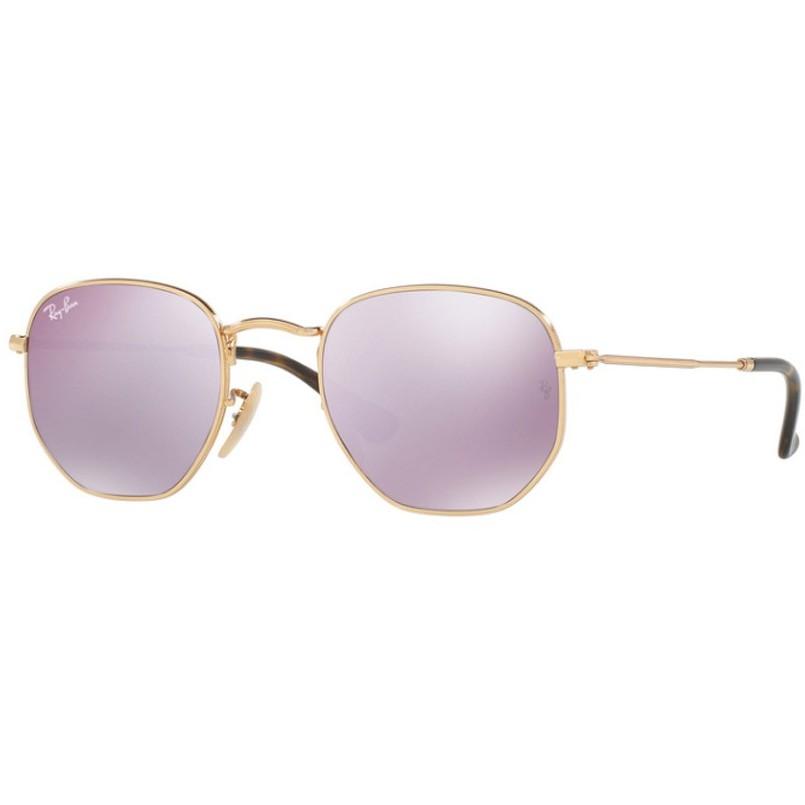 Ochelari de soare unisex Ray-Ban RB3548N 001/8O Rotunzi originali cu comanda online