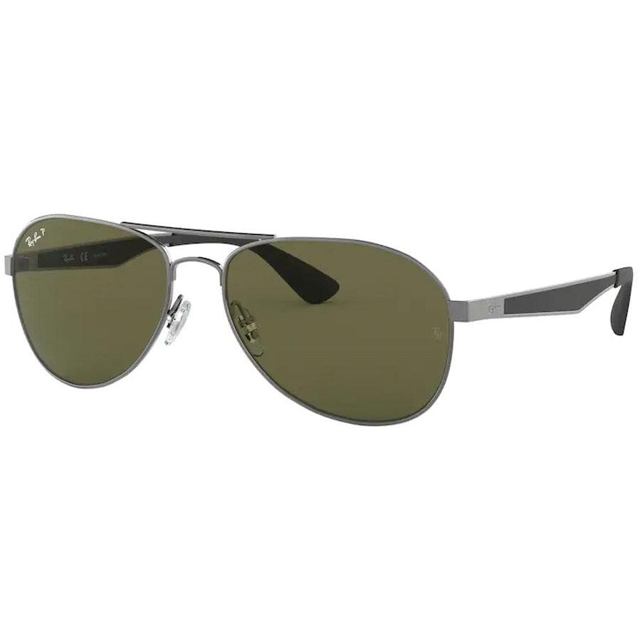 Ochelari de soare unisex Ray-Ban RB3549 004/9A Pilot originali cu comanda online