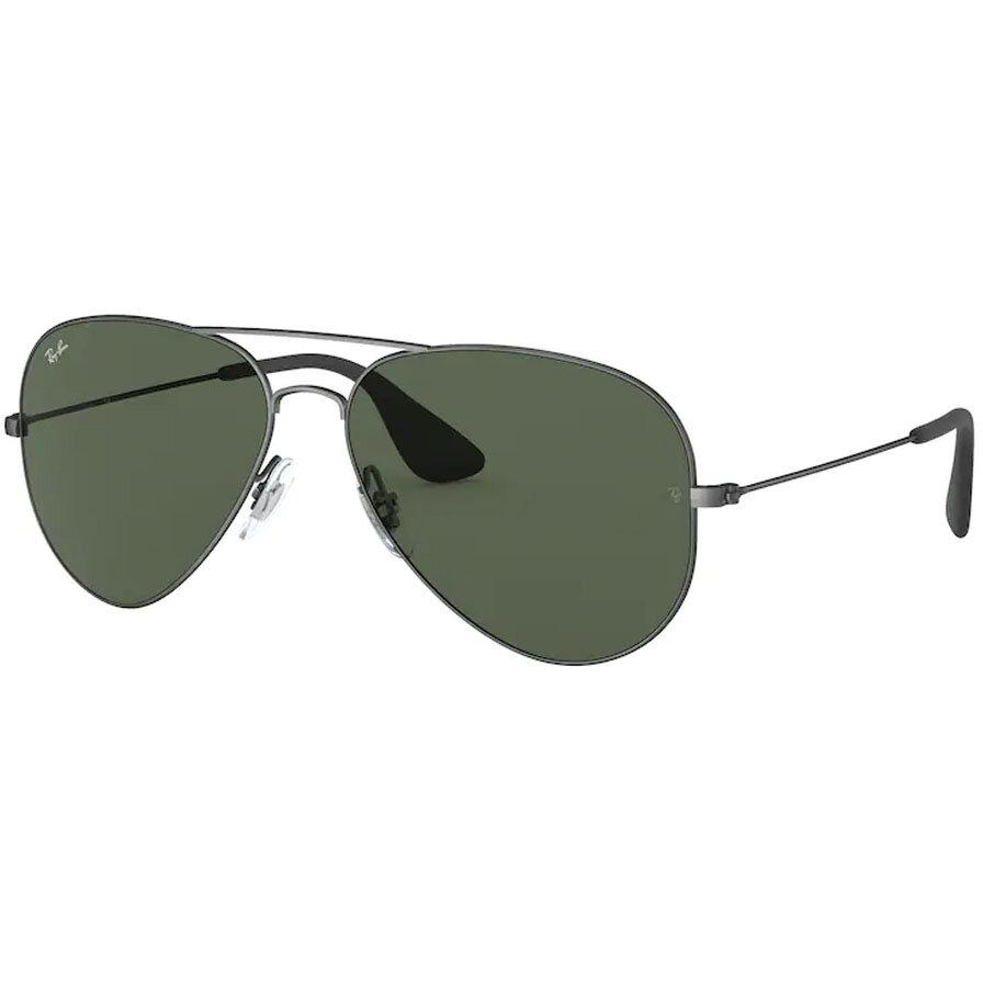 Ochelari de soare unisex Ray-Ban RB3558 913971 Pilot originali cu comanda online