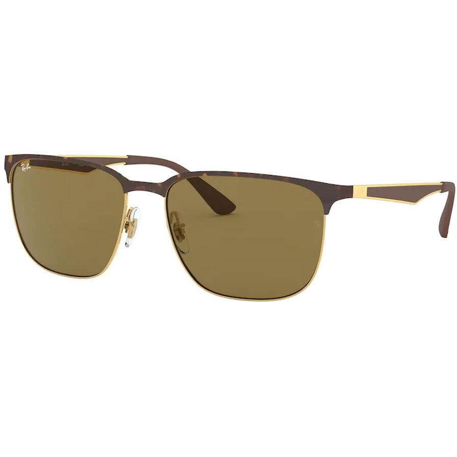 Ochelari de soare unisex Ray-Ban RB3569 900873 Patrati originali cu comanda online