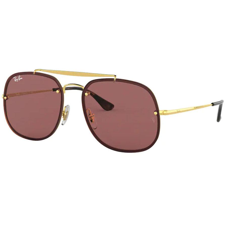 Ochelari de soare unisex Ray-Ban RB3583N 001/75 Patrati originali cu comanda online
